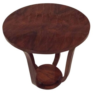 French Art Deco Accent Table For Sale