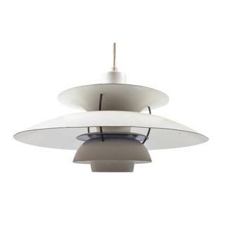 1958 Poul Henningsen for Louis Poulsen Ph5 Pendant Light For Sale