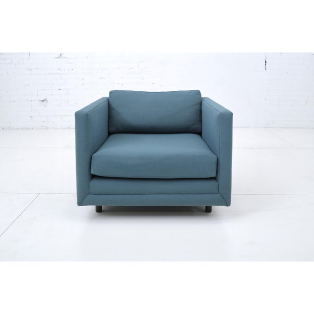 Harvey Probber Tuxedo Lounge Chair For Sale - Image 10 of 11