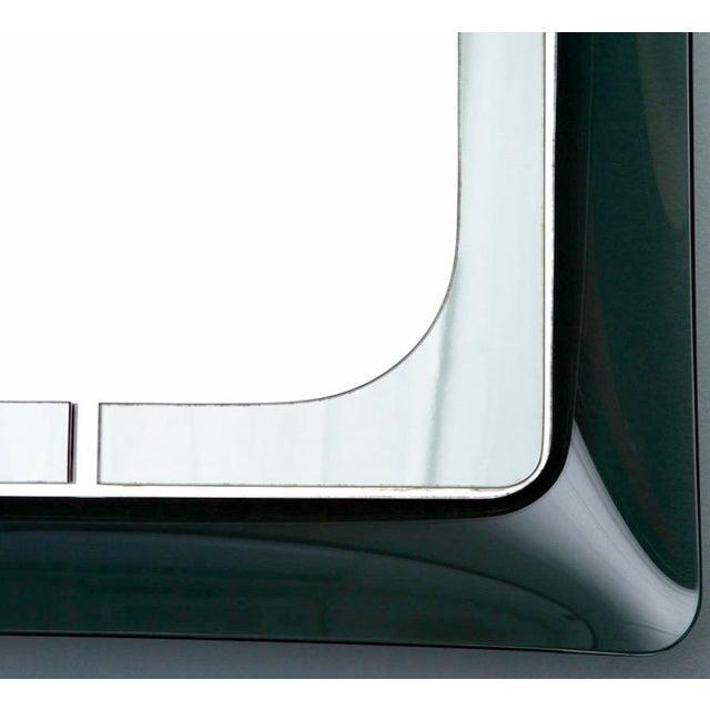 Italian Mid Century Fontana D'Arte Green Frame Wall Mirror - Image 3 of 6