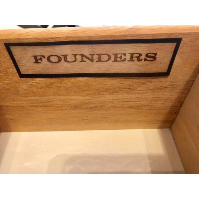 Pair of Founders Mid-Century Modern Bachelors Chests or Nightstands or Commodes For Sale - Image 12 of 13