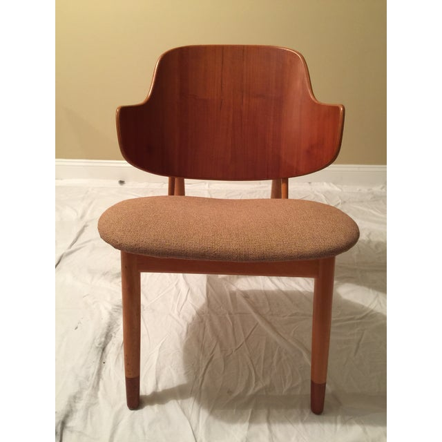 MCM Ib Kofod Larsen penguin chair. Made in Denmark. All original, including upholstery. Can be disassembled.