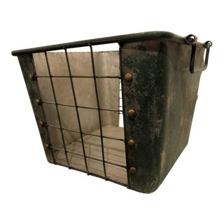 Green Industrial Basket