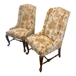 Traditional Ethan Allen Side Chairs - a Pair