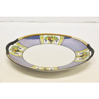 Noritake Blue Luster Handled Cake Plate Preview