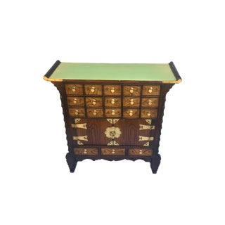 1960s Korean Apothecary Tansu Cabinet For Sale