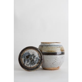 Hand Thrown Ceramic Lidded Vessel Preview