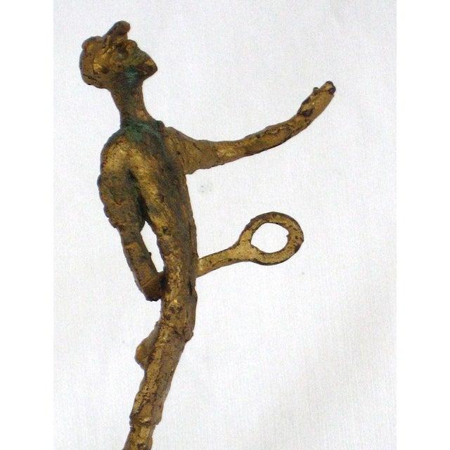 Mid 20th Century Bronze Sculpture - Image 3 of 3