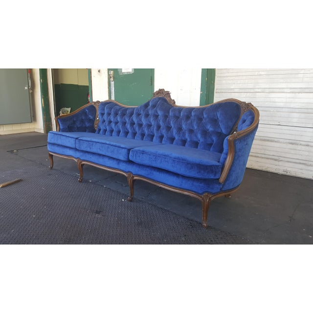 Antique French Provincial Couch - Image 3 of 3