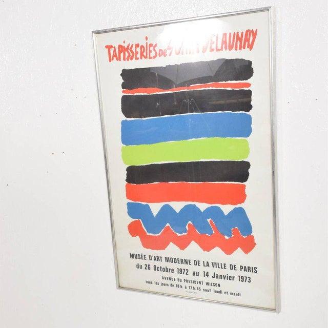 1970s Tapisseries De Sonia Delaunay 1972 Paris Litho Poster For Sale - Image 5 of 8