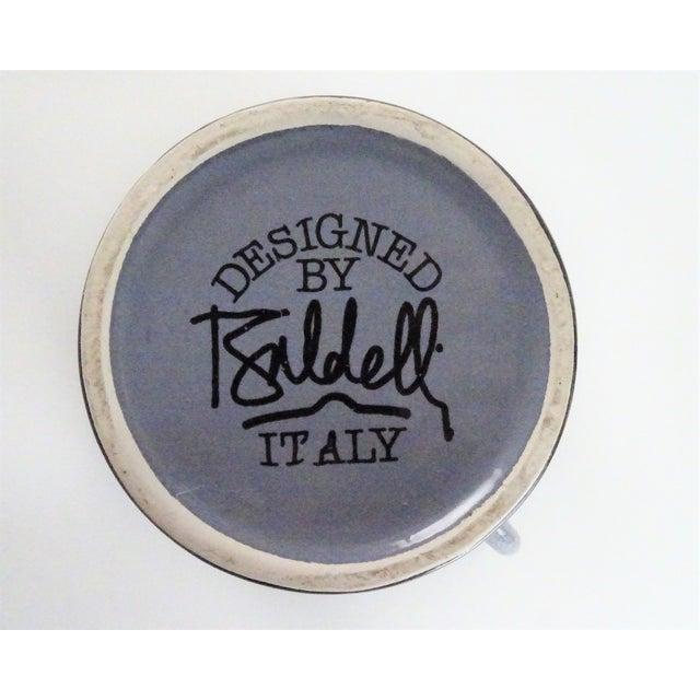 1980s Baldelli Italian Speckle Glaze Teapot For Sale - Image 10 of 13