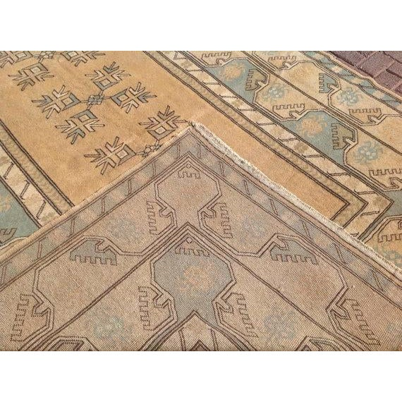 """Vintage Anatolian Rug - 6'7"""" x 10' For Sale In Raleigh - Image 6 of 6"""