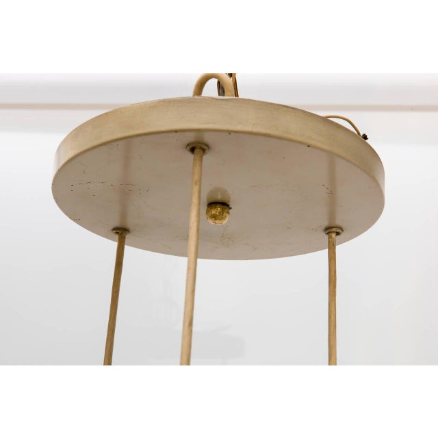 German Midcentury Staggered Pendant Fixture For Sale In New York - Image 6 of 8