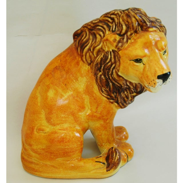 Mid-Century Italian Lion by Bellini - Image 3 of 9