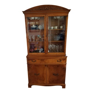 1930's Myrtlewood China Cabinet (3 of 3) For Sale