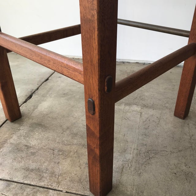 Metal Glenn of California Barstools - a Pair For Sale - Image 7 of 10