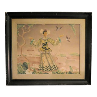 1940s Hollywood Japanese Geisha Print