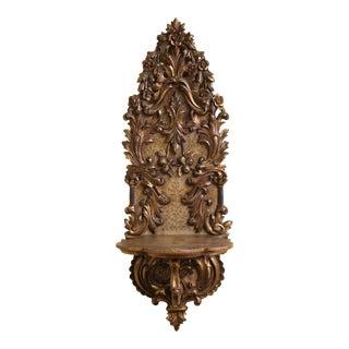 Italian Baroque Revival Wall Bracket For Sale
