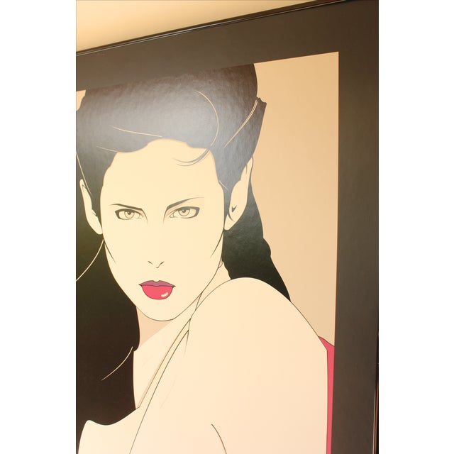 Patrick Nagel Lithograph Print For Sale - Image 5 of 6