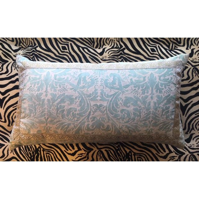 Fortuny Lumbar Pillow For Sale - Image 4 of 4