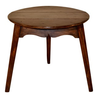 Early 19th Century Drop-Leaf Cricket Table For Sale