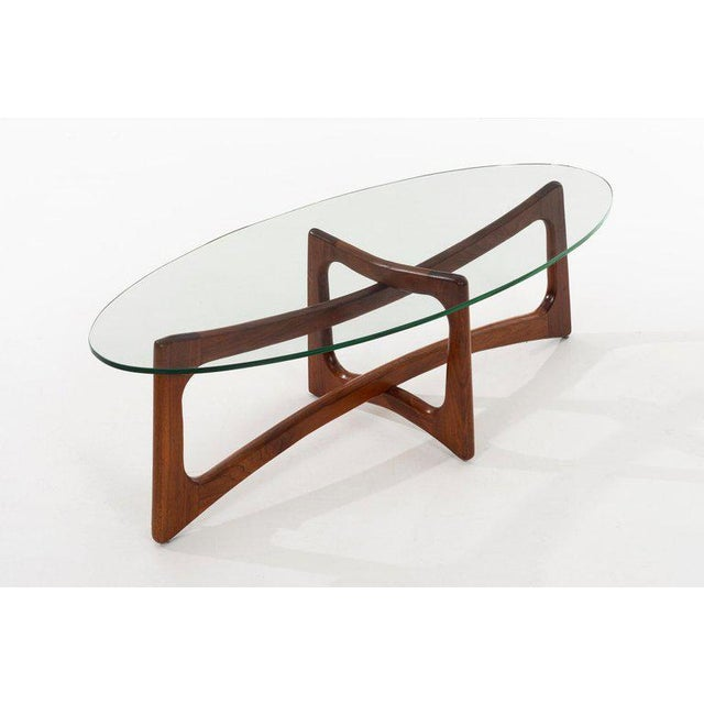 1960s Adrian Pearsall 2454-Tgo Coffee Table for Craft Associates For Sale - Image 5 of 6