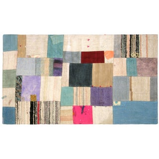 Nalbandian - 1970s Turkish Patchwork Kilim - 3' X 5' For Sale