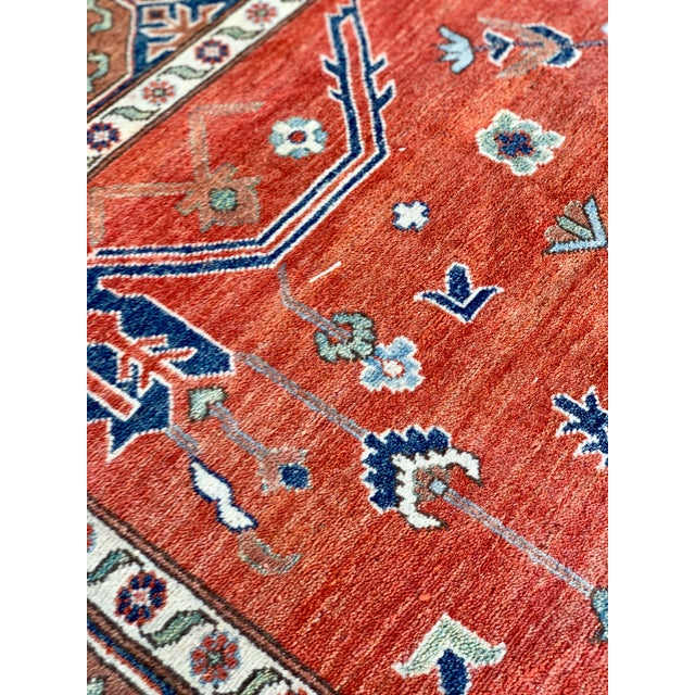 1990s Persian Serapi Rug - 10′ × 13′9″ For Sale - Image 11 of 13