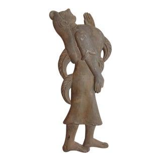 Frederic Weinberg Mayan Durex Wall Sculptures