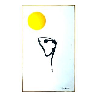 """The Dancer"" Vintage Ben Hollis Oil Painting For Sale"