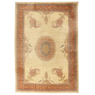 Antique Oversize 19th Century Turkish Borlu Carpet For Sale