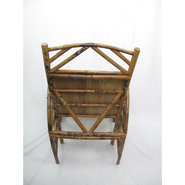 Vintage Chinese Bamboo Chair For Sale - Image 4 of 6