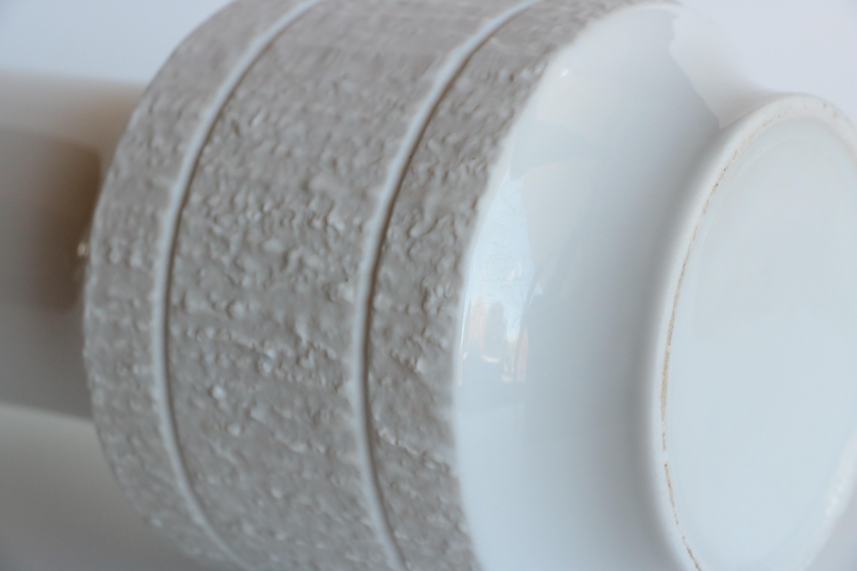 Faux Bois Bark Textured Porcelain Vase - Image 5 of 6  sc 1 st  Chairish & Faux Bois Bark Textured Porcelain Vase | Chairish