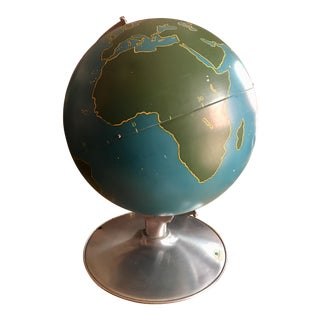 Nystrom Large Military Globe 1940's-50's For Sale