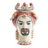 Image of Sicilian Head in Rose, Schittone Modern Moro For Sale