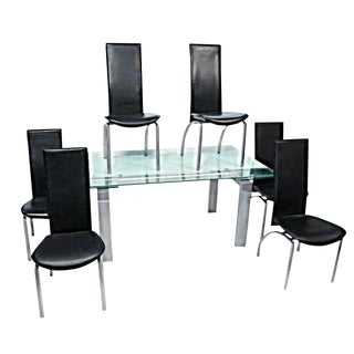 Kaiser Newman Post Modern Art Deco Dining Set For Sale