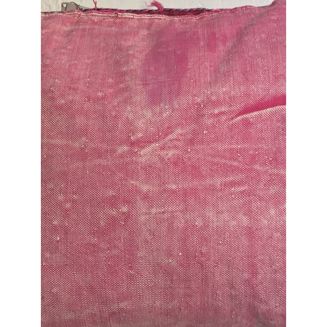 Pink Moroccan Stuffed Cactus Silk Pillow - Image 7 of 9