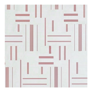 """Beaumarchais Patchwork - Red Rl Number: Lfy66897f - 36x54"""" For Sale"""