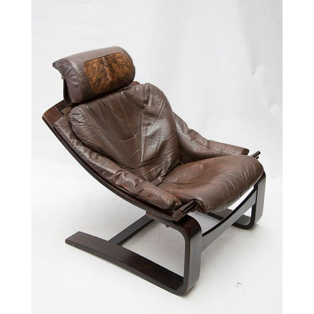 88c7f84da Contemporary Kroken De Lux Lounge Chair by Ake Fribytter For Sale - Image 3  of 10