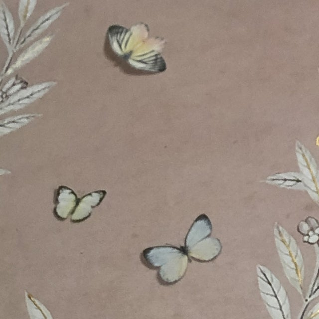 Chinoiserie Art in Blush Print from Kenneth Ludwig Home For Sale - Image 10 of 11