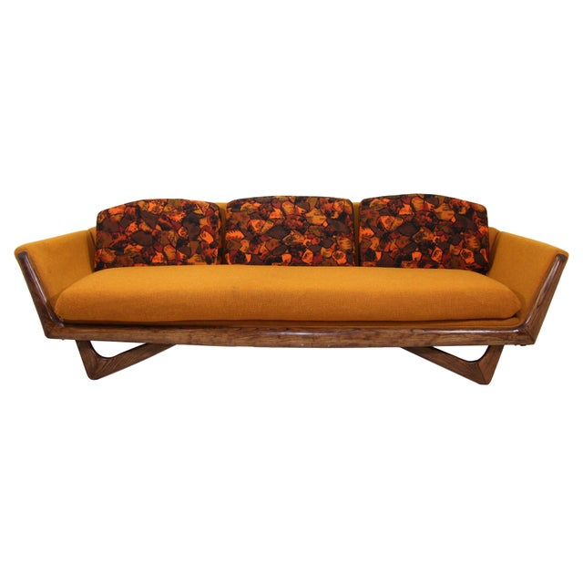 Textile Adrian Pearsall Style Sofa by Prestige Furniture Company For Sale - Image 7 of 7