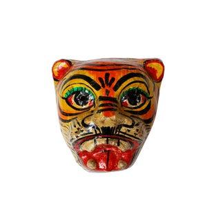 Paper Mache Tiger Mask For Sale