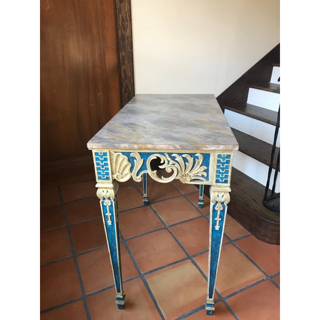 Painted 1920s Console Table - Image 3 of 10