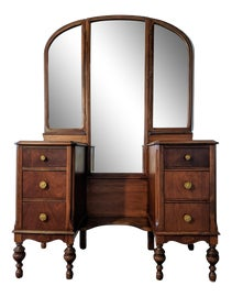 Image of American Vanity and Mirror Sets