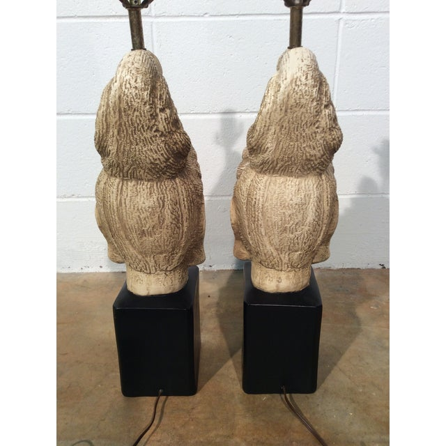 James Mont Buddha Lamps - A Pair - Image 5 of 11