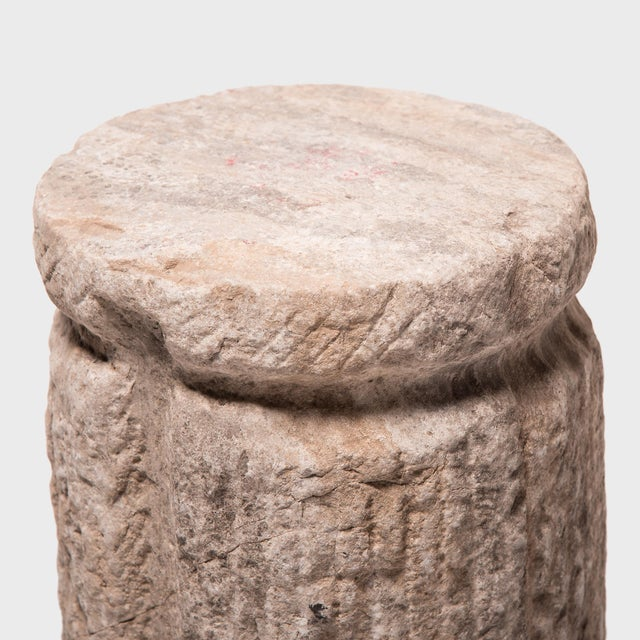 Early 20th Century Early 20th Century Chinese Cinched Mill Stone For Sale - Image 5 of 11