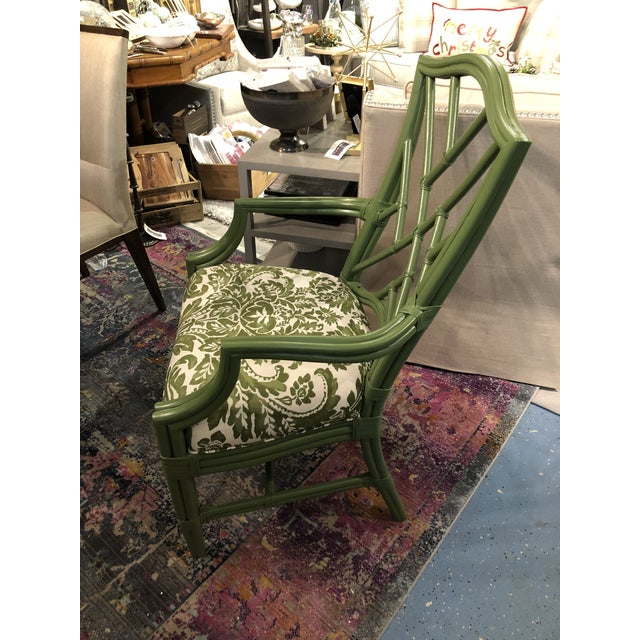 2010s Green Lacor Mai Armchair For Sale - Image 5 of 8