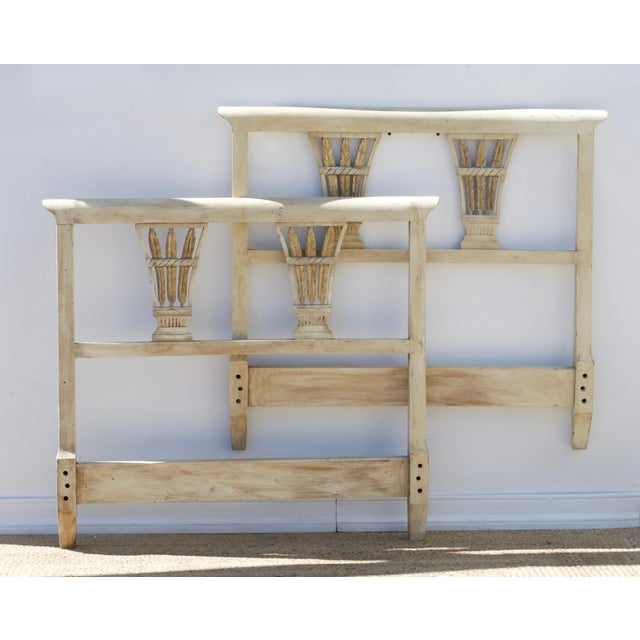 Painted Regency Twin Headboards, a Pair For Sale - Image 9 of 9