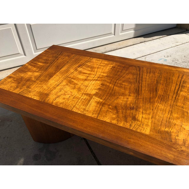 Maple Kroehler Mid-Century Modern Bentwood Base Coffee Table For Sale - Image 7 of 11