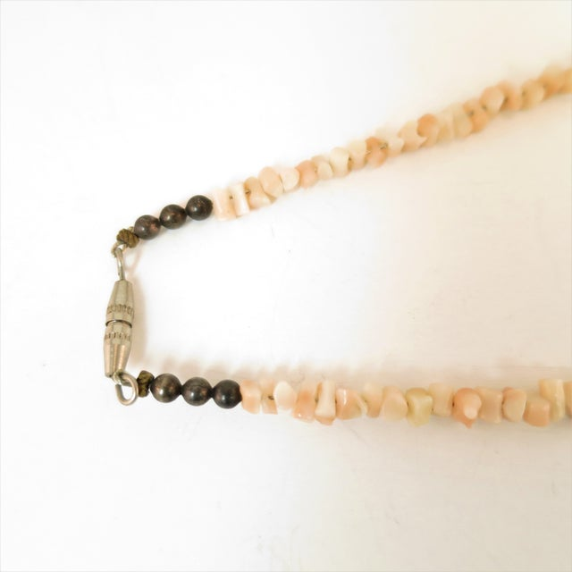 Angel Skin Coral Branch Necklace 1930s For Sale - Image 10 of 11